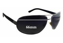 Sunglass Fix Sunglass Replacement Lenses for Bvlgari 5006 - 66mm Wide x 47mm Tall