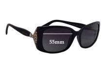 Sunglass Fix Sunglass Replacement Lenses for Bvlgari 8099-B - 55mm Wide
