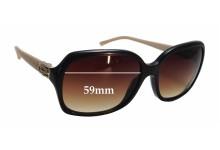 Sunglass Fix Sunglass Replacement Lenses for Bvlgari 8106-B - 59mm Wide