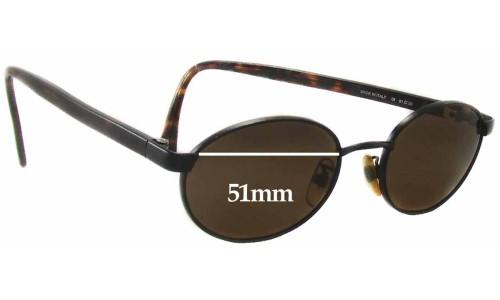 Sunglass Fix Sunglass Replacement Lenses for Calvin Klein CK235S - 51mm Wide