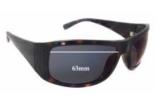 Sunglass Fix Sunglass Replacement Lenses for Calvin Klein CK3078S - 63mm Wide - 38mm Tall