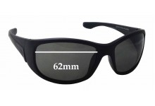 Sunglass Fix Sunglass Replacement Lenses for Cancer Council Australia Silverton - 62mm Wide x 41mm Tall