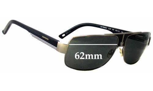 Sunglass Fix Sunglass Replacement Lenses for Carrera 7000/S - 62mm Wide