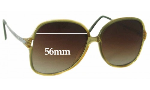 Sunglass Fix Sunglass Replacement Lenses for Carrera 5303 - 56mm wide