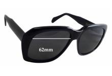 Sunglass Fix Sunglass Replacement Lenses for Caviar Ultra Goliath 2 - 62mm Wide x 54mm Tall