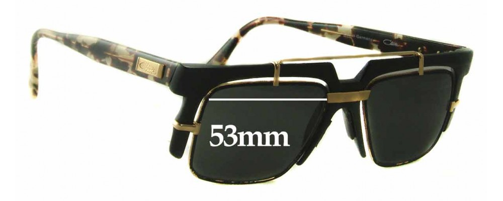063eb6fba7f Cazal Mod 873 Sunglass Replacement Lenses - 53mm Wide