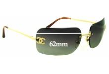 Sunglass Fix Sunglass Replacement Lenses for Chanel 4017-D - 62mm Wide