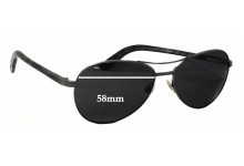 Sunglass Fix Sunglass Replacement Lenses for Chanel 4201 - 58mm Wide