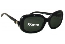 Sunglass Fix Sunglass Replacement Lenses for Chanel 5170 - 58mm Wide
