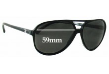 Sunglass Fix Sunglass Replacement Lenses for Chanel 5206 - 59mm Wide