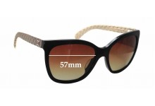 Sunglass Fix Sunglass Replacement Lenses for Chanel 5288-Q - 57mm Wide