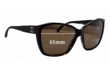 Sunglass Fix Sunglass Replacement Lenses for Chanel 5203 - 61mm Wide