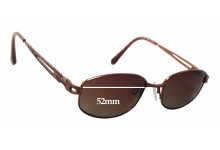 Sunglass Fix Sunglass Replacement Lenses for Charmant CH10864 - 52mm Wide x 31mm Tall