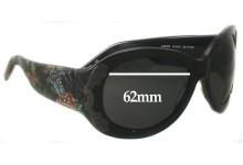 Sunglass Fix Sunglass Replacement Lenses for Christian Audigier CAS409 - 62mm Wide