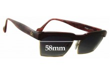 Sunglass Fix Sunglass Replacement Lenses for Christian Lacroix 7318 - 58mm Wide