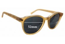 Sunglass Fix Sunglass Replacement Lenses for Colabs ASkill Projects  - 52mm Wide