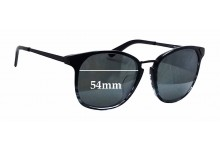 Sunglass Fix Sunglass Replacement Lenses for Covry Vega - 54mm Wide