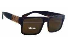 Sunglass Fix Sunglass Replacement Lenses for Crooks & Castles Comrade - 54mm Wide