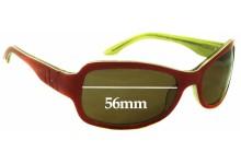 Sunglass Fix Sunglass Replacement Lenses for Calvin Klein CK4043S - 56mm Wide
