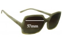 Sunglass Fix Sunglass Replacement Lenses for Celine SC1523 - 57mm Wide