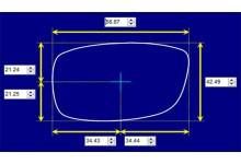 Sunglass Fix Sunglass Replacement Lenses for Chopper 125 - 69mm Wide