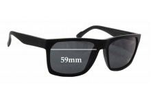 Sunglass Fix Sunglass Replacement Lenses for D'Blanc Cheap Thrill - 59mm Wide