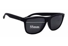 Sunglass Fix Sunglass Replacement Lenses for D'Blanc Last Laugh - 55mm Wide