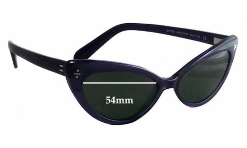 Sunglass Fix Sunglass Replacement Lenses for Derek Cardigan DC7006 - 54mm Wide