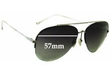 Sunglass Fix Sunglass Replacement Lenses for Dita Sparrow - 57mm Wide
