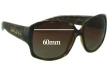 Sunglass Fix Sunglass Replacement Lenses for DKNY DY4069 Sunglass Replacement Lenses- 60mm Wide