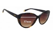 Sunglass Fix Sunglass Replacement Lenses for DKNY DY4084 -  57mm Wide x 46mm Tall