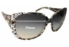 Sunglass Fix Sunglass Replacement Lenses for Dolce & Gabbana DG4116 - 59mm Wide