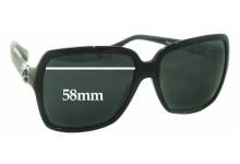 Sunglass Fix Sunglass Replacement Lenses for Dolce & Gabbana DG4164P - 58mm Wide