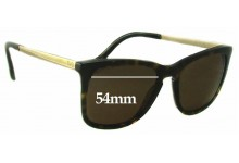 Sunglass Fix Sunglass Replacement Lenses for Dolce & Gabbana DD3081 - 54mm Wide