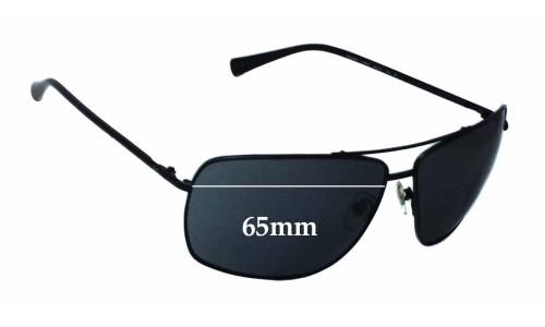 Sunglass Fix Sunglass Replacement Lenses for Dolce & Gabbana DD6090 - 65mm Wide