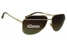 Sunglass Fix Sunglass Replacement Lenses for Dolce & Gabbana DG2111 - 62mm Wide