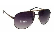 Sunglass Fix Sunglass Replacement Lenses for Dolce & Gabbana DG2116 - 61mm Wide
