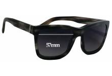 Sunglass Fix Sunglass Replacement Lenses for Dolce & Gabbana DG4161 - 57mm Wide