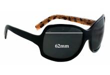 Sunglass Fix Sunglass Replacement Lenses for Dolce & Gabbana DG418S - 62mm Wide