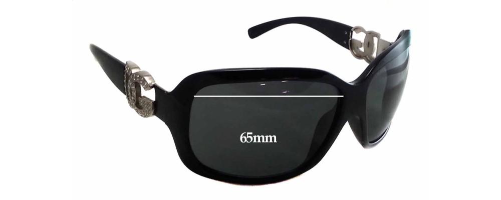 Sunglass Fix Sunglass Replacement Lenses for Dolce & Gabbana DG6029B - 65mm Wide x 46mm Tall