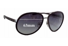 Sunglass Fix Sunglass Replacement Lenses for Dolce & Gabbana DG6048 - 63mm Wide