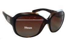 Sunglass Fix Sunglass Replacement Lenses for Dolce & Gabbana DG6049 - 59mm Wide