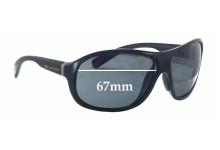 Sunglass Fix Sunglass Replacement Lenses for Dolce & Gabbana DG6069 - 67mm Wide