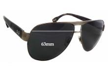 Sunglass Fix Sunglass Replacement Lenses for Dolce & Gabbana DG6080 - 63mm Wide