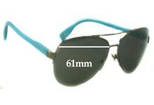 Sunglass Fix Sunglass Replacement Lenses for Dolce & Gabbana DG6092 - 61mm Wide