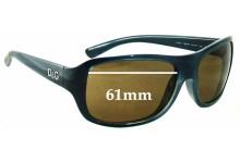 Sunglass Fix Sunglass Replacement Lenses for Dolce & Gabbana DG8049 - 61mm Wide