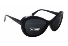 Sunglass Fix Sunglass Replacement Lenses for Dolce & Gabbana DG8083 - 57mm Wide x 45mm Tall