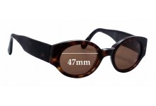 Sunglass Fix Sunglass Replacement Lenses for Dolce & Gabbana Unknown Model - 47mm Wide