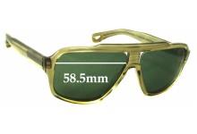 Sunglass Fix Sunglass Replacement Lenses for Dita Carbine - 58.5mm Wide