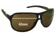 Sunglass Fix Sunglass Replacement Lenses for Dolce & Gabbana DG8006 - 62mm Wide